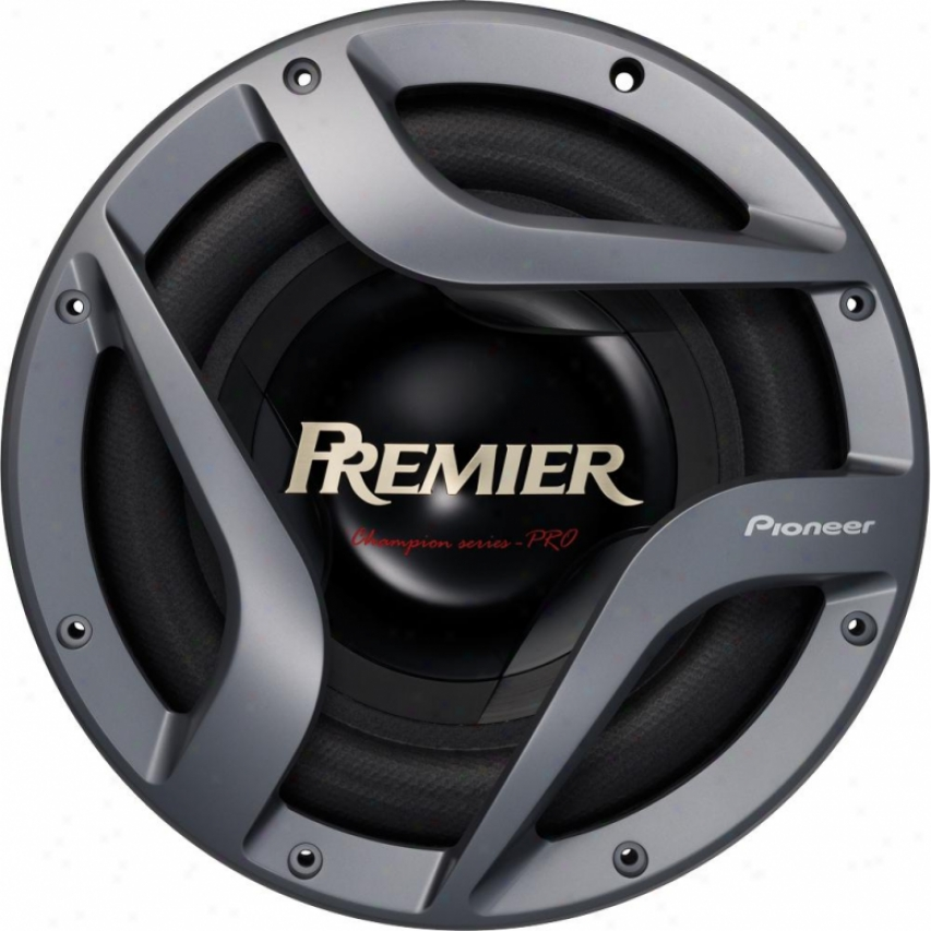 "Pioneer Ts-w3002d2 12"" Dual 2 Ohm Champion Pro Series Sugwoofer"