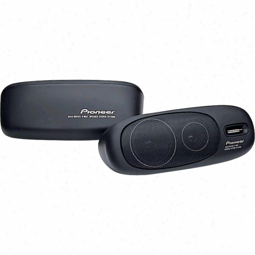 Pionewr Td-x200 3-way Superficies Rise Car Speakers