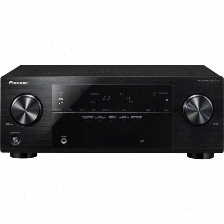 Pioneer Vsx-1022-k 7.1-channel 3d & Network Ready A/v Receiver
