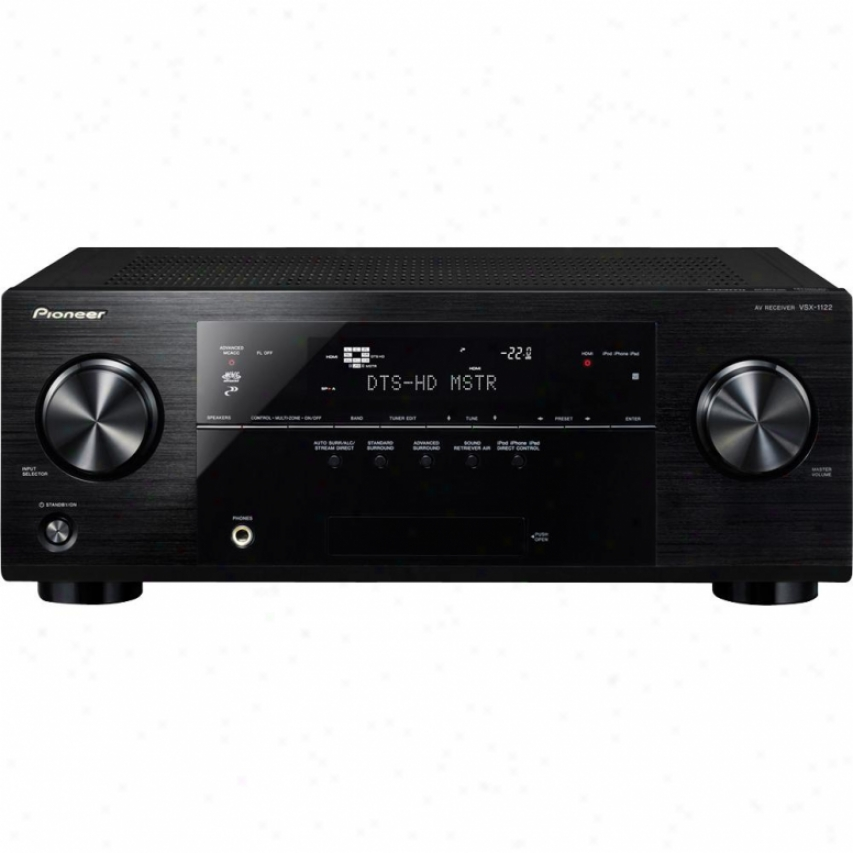Pioneer Vsx-1122-k 7.2-channel 3d & Network Ready A/v Receiver