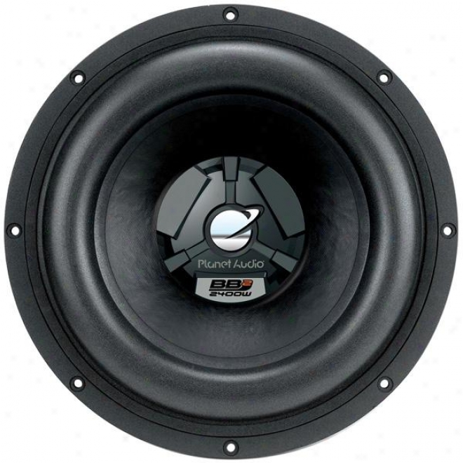 Planet Audio 12-inch Dual Voice Coil Subwoofer