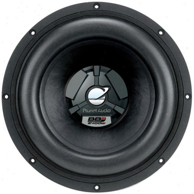 Planet Audio 15-inch Dual Voice Coil Subwoofer