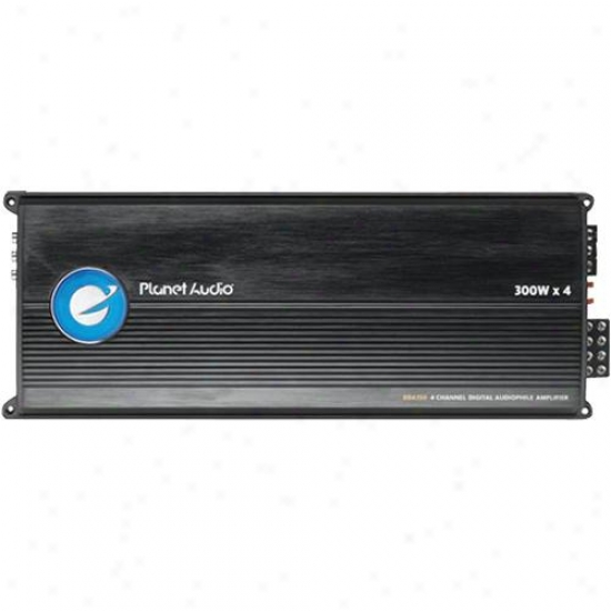 Planet Audio 4-channel Digital Audiophile Power Amplifier