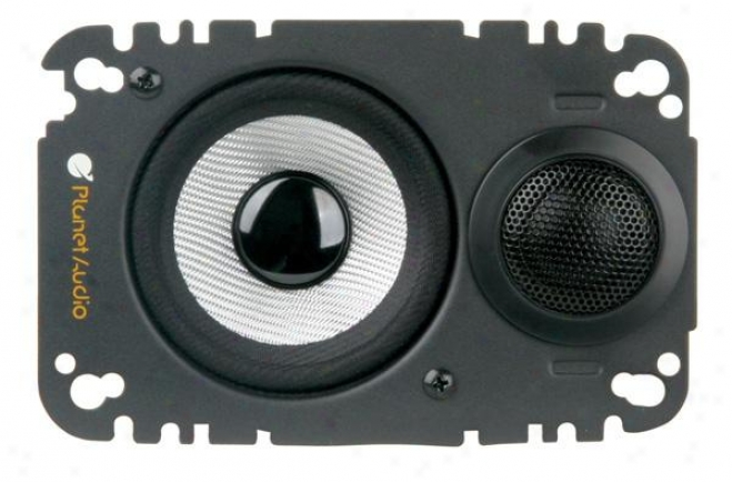 Planet Audio 4 X 6 2-way Plate Speaker System