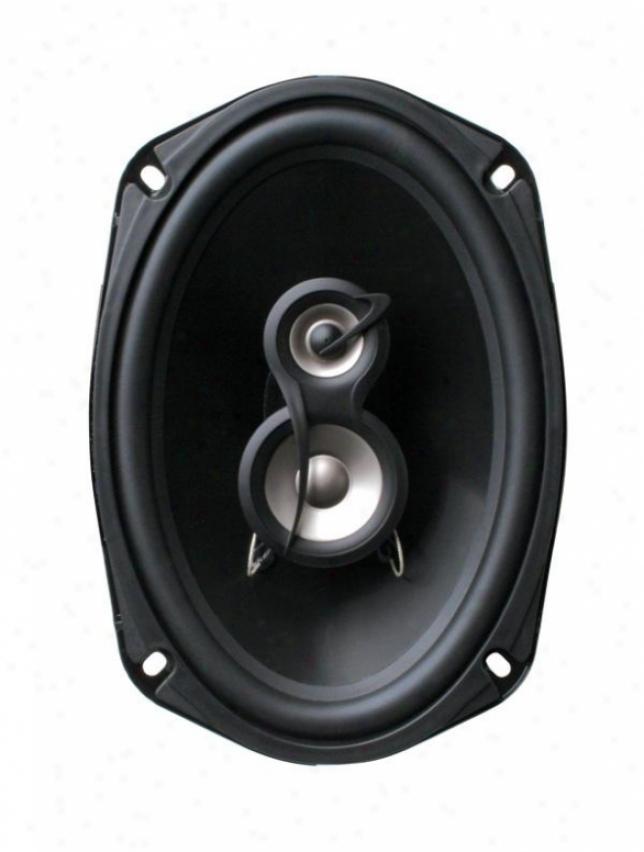 Planet Audio 6 X 9 3-way Speaker System