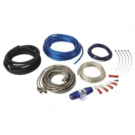 Planet Audio 8 aGuge Amplifier Installation Kit