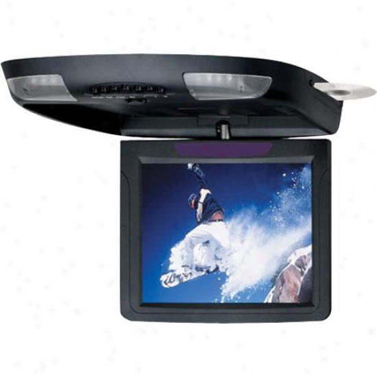 "Planet Audio Planet 10.4"" Flip Down Monitor/dvd Playr"