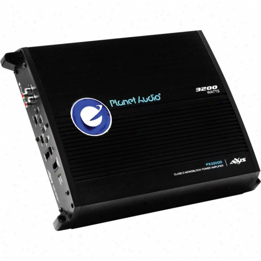 Planet Audio Planet 3200w Max Power Class D Mlno Amp