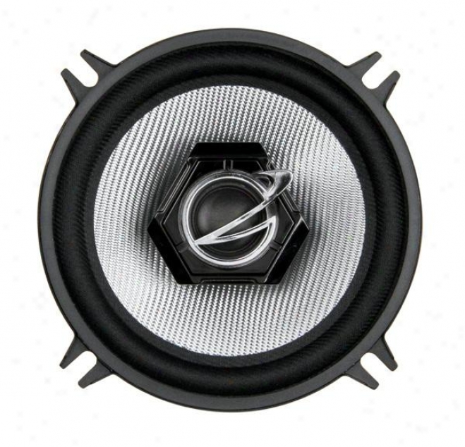 "Planet Audio Planet 5-1/4"" 2-way Speaker System, Silv"