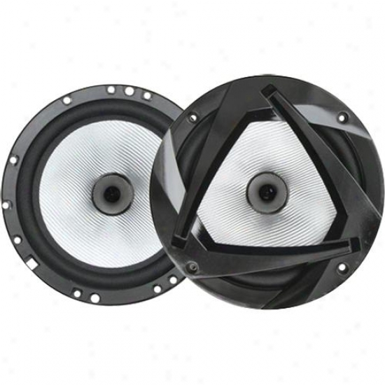 "Plsnet Audio Planet 6-1/2"" 2-way Compoment Speaker Sy"