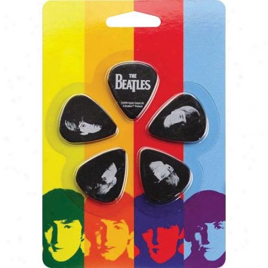 Planet Waves 1cbk2-10b2 10-pack Meet The Beatles Picks - Thin