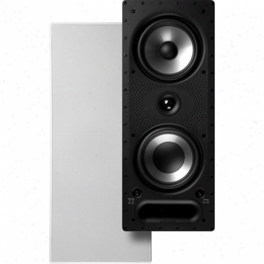 "Polk Audio 3-way 6.5"" In-wall Speaker - 265-rt"