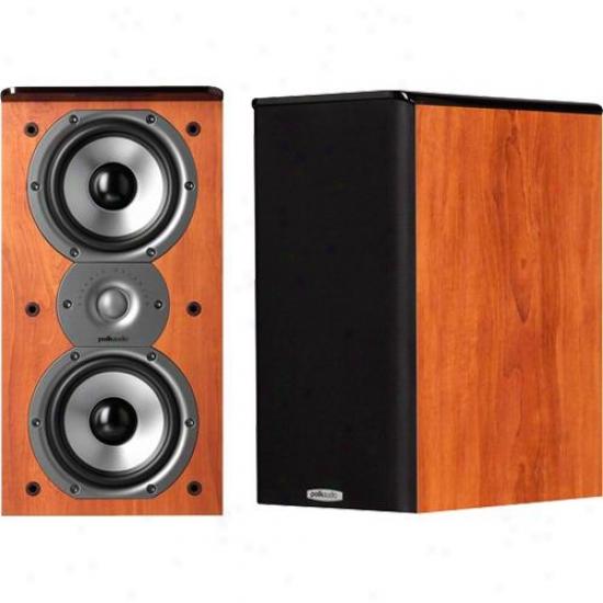 Polk Audio Am4202-a Tsi 200 Cherry Bookshelf Speaker - (priced Per Pair)