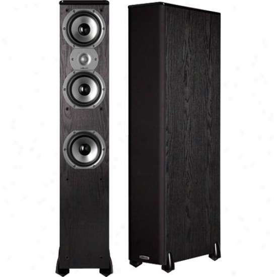 Polk Audio Am6205-a Tsi 400 Single Floorstanding Speaker - Black