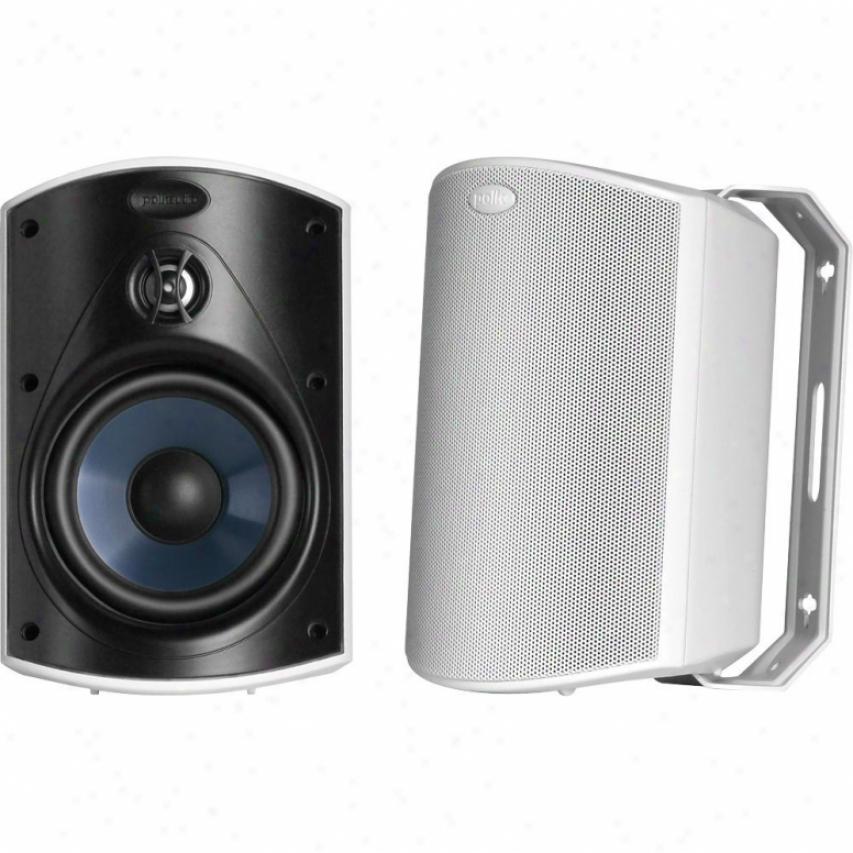 Polk Audio Atrium4 All-weather Indoor/outdoor Speaker - Pair - White