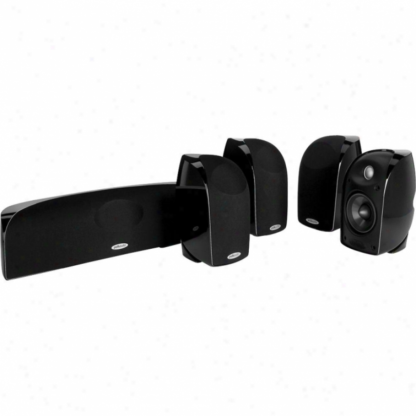 Polk Audio Blackstone Tl250 5-piece Satellite Speaker System - Black
