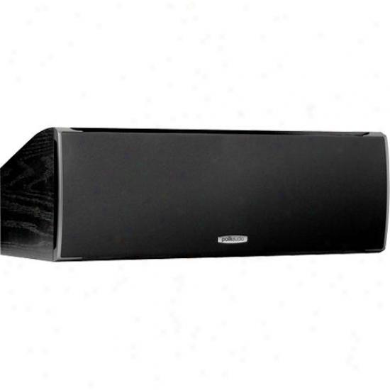 Polk Audio Csi-a4 High-perfomrance Center Channel Loudspeaker - Black