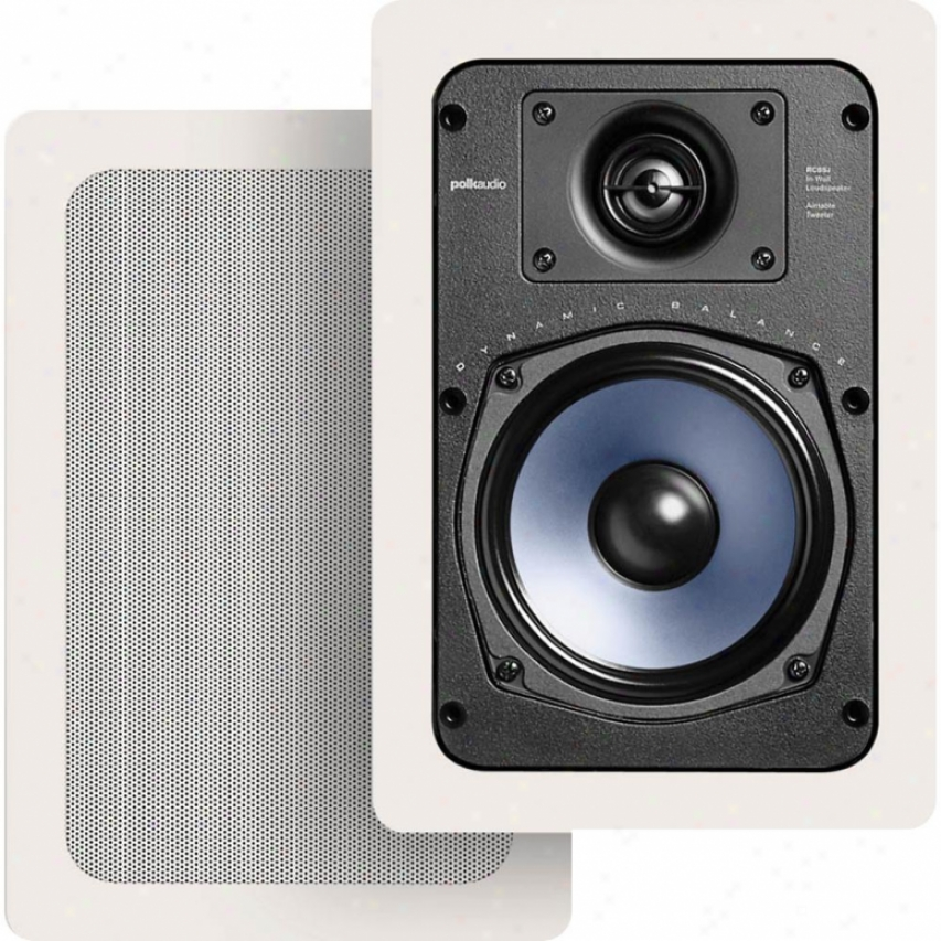 Polk Audio Rc55i Pair O fIn-wall Rectangular Loudspeakers