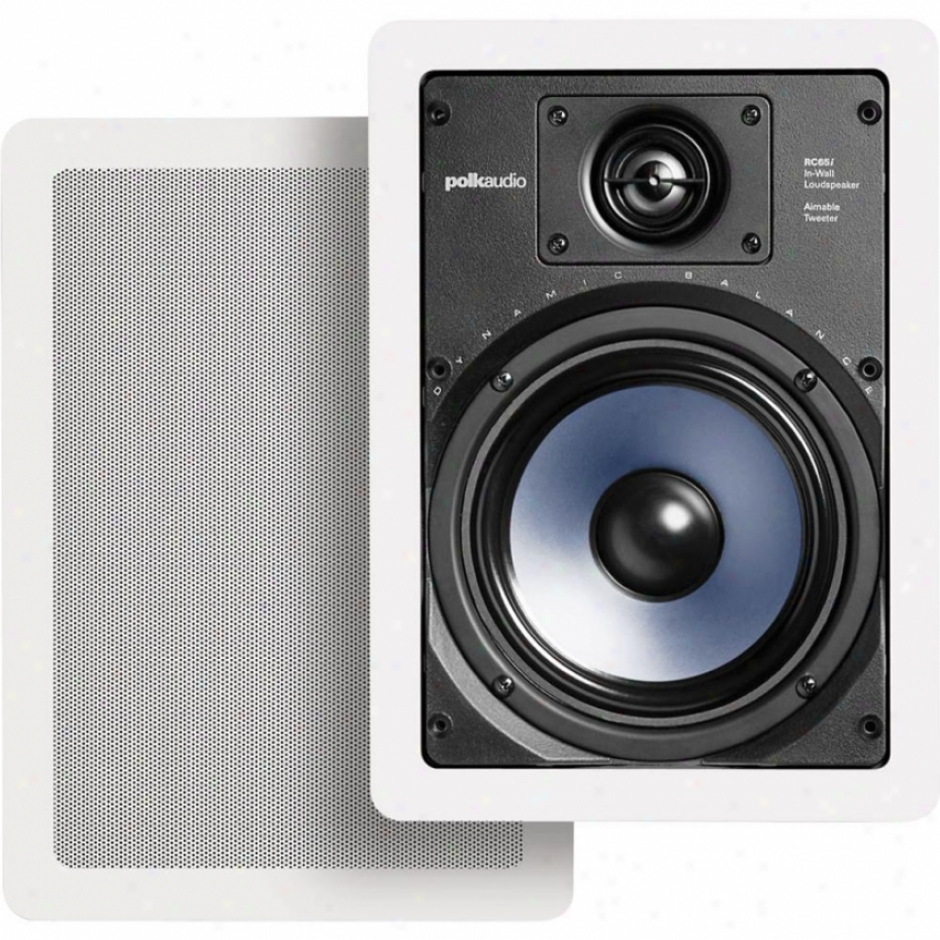 Polk Audio Rc65i In-wall Speakers ( Pair )