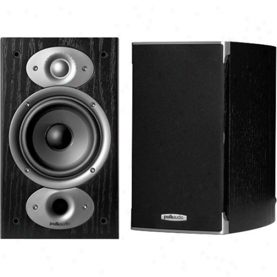Polk Audio Rti A1 High-performance Bookshelf Speakers - Black