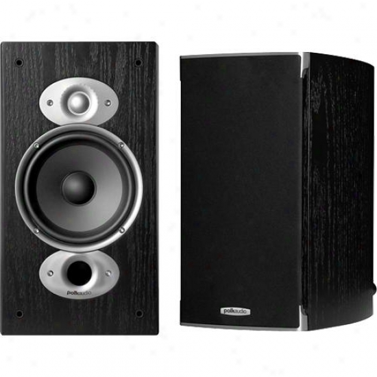 Polk Audio Rti A3 Bookshelf Speakers ( Pair ) - Black