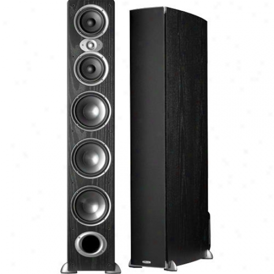 Polk Audio Rti A9 High Performance Floorstanding Loudspeaker ( Each ) - Black