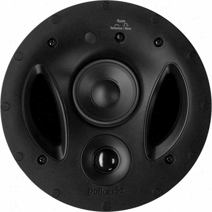Polk Audio Three-way Vanishing Rt Series In Ceiliing Speaker - 70-rt