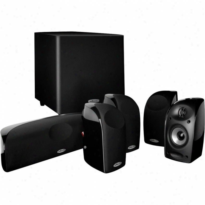 Polk A8dio Tl1600 Blackstone Home Theater Audio Speaker System
