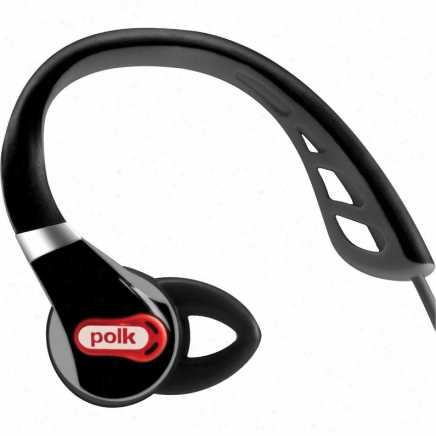 Polk Audio Ultrafit 500 In-ear Sports Headphones - Black