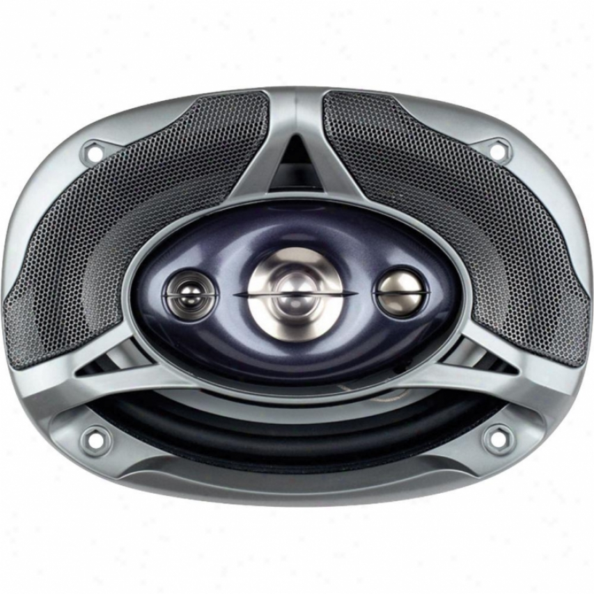 Power Acoustik 6x9 4 Way Speakers 380 Watts