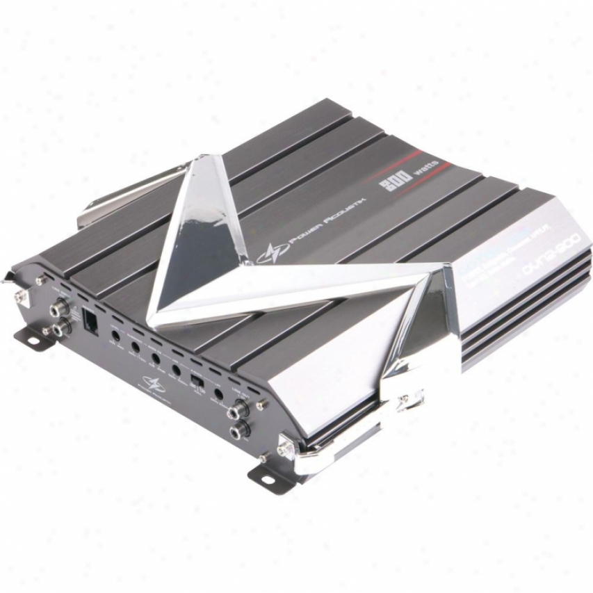 Power Acoustik Ovn2800 Gothic Series 800-watt 2-channel Class A/b Amplifier