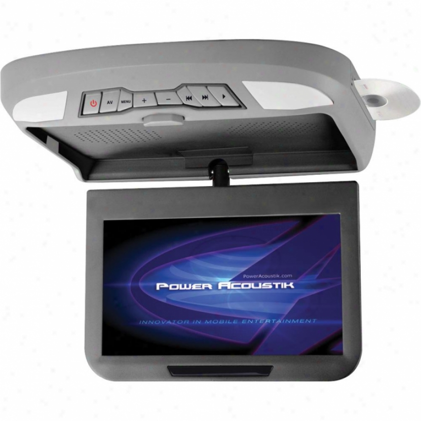 "Power Acoustik Pa 10.2"" Lcd Ceiling Mount Dvd Combo"