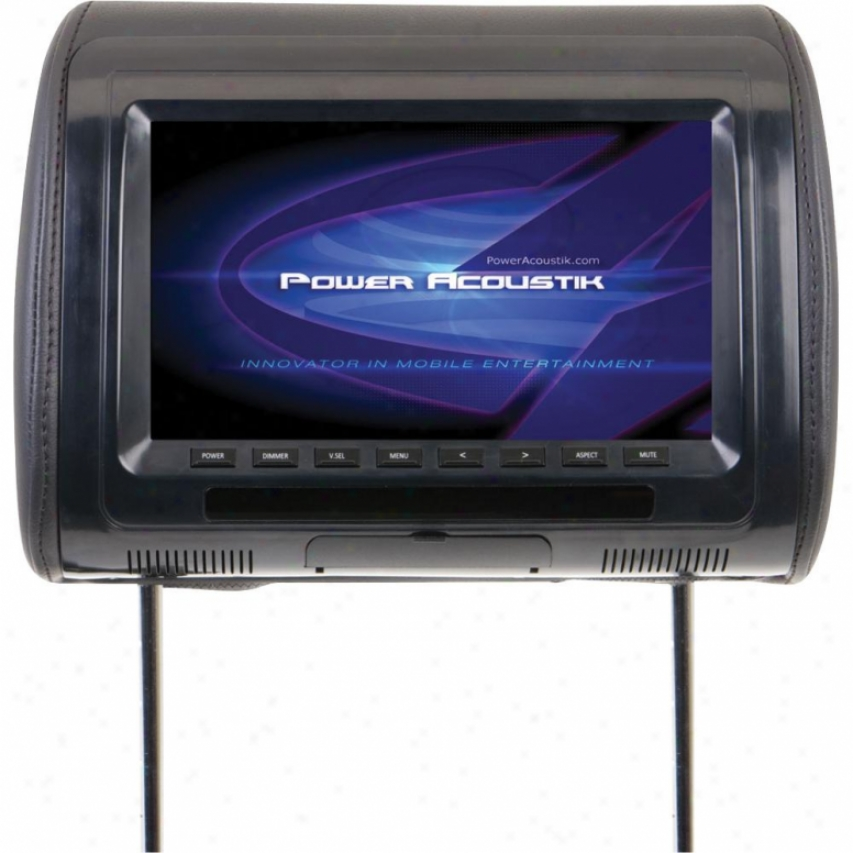 Power Acoustik Pa Univ. RepacementH eadrest Monitor 9&quot;