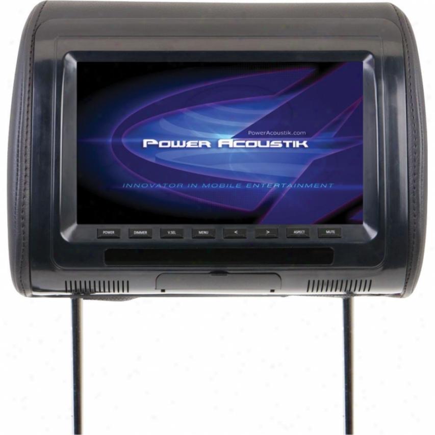 """Power Acoustik Pa Univ. RepacementH eadrest Monitor 9"""""""