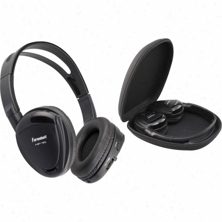 Power Acoustik Swivel 1channel Ir Wireless Headphones