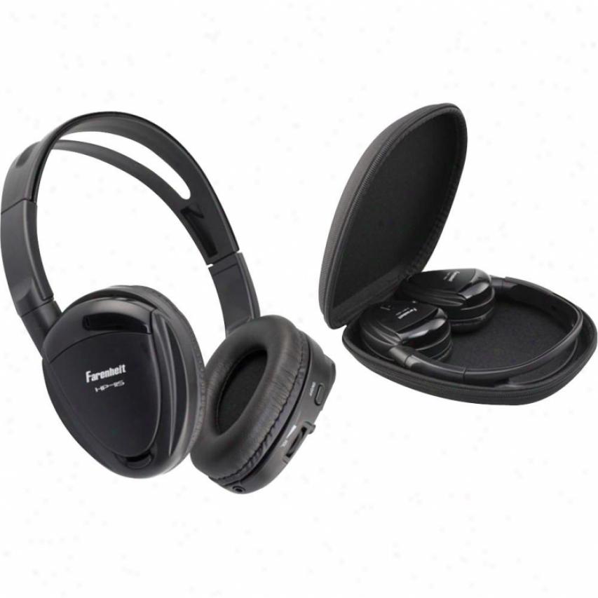 Power Acoustik Swivel 1channel Ir Wireless Headphones