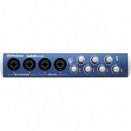 Presonus Audiobox 44vsl Advanced 4x4 Usb 2.0 Recording System