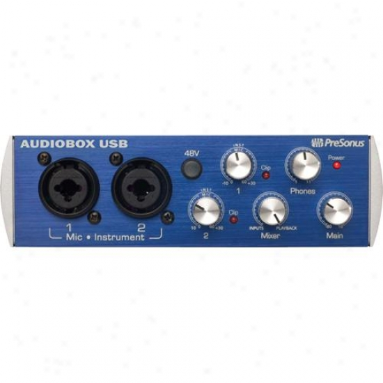 Presonus Audiobox Usb Recording Interface
