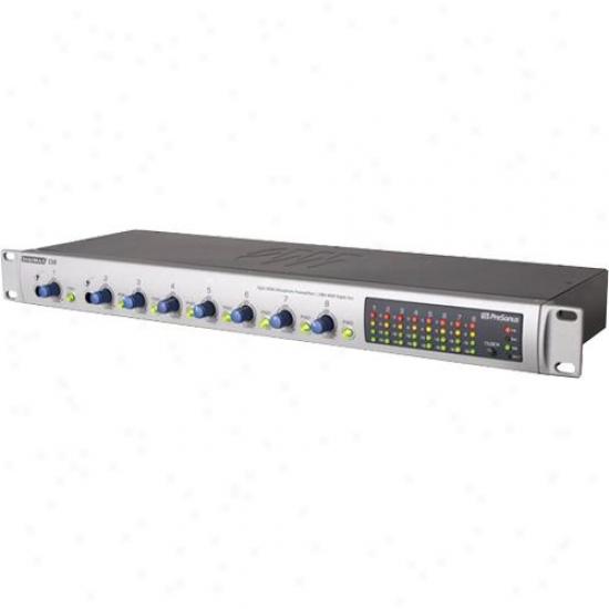 Presonus Digimax D8 8-channel Mic Preamp W/ Digital Output
