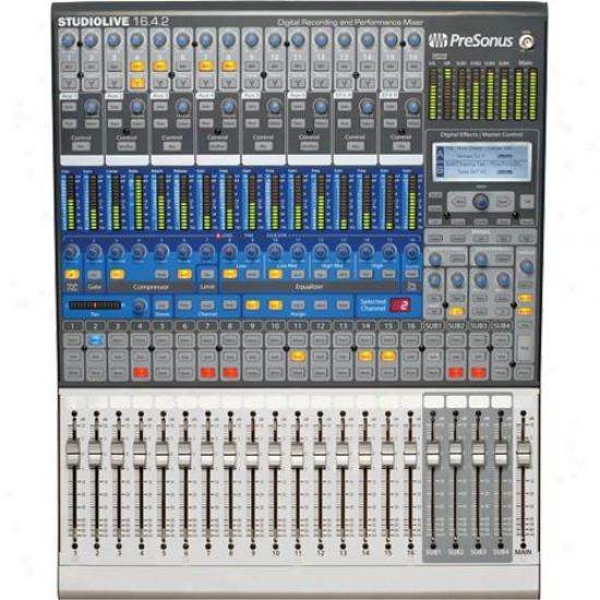Presonus Stusiolive 16.4.2 Subsist Recording Mixer