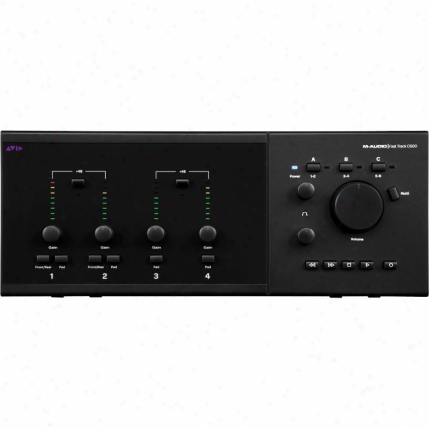 Pro Tools Mp + Fast Track C600