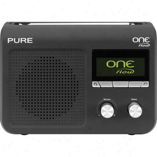 uPre One Flow Fm & Internet Radio With Optional Rechargeable Battery Pack