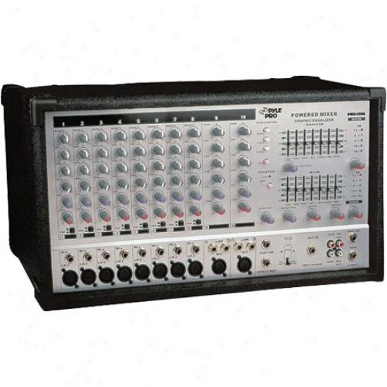 Pyle 10-cbannel Powered Mixer