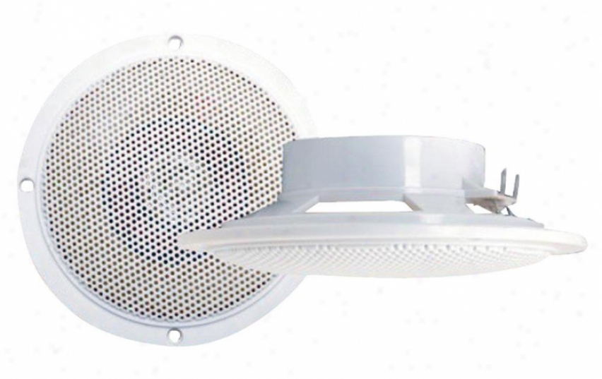 Ple 100 Watts 4' Waterproof Flush Mount  2Way Marine Speaker System