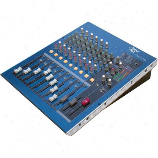 Pyle 12 Channel Professional Digital (dsp) Console Mixer Pmx1209