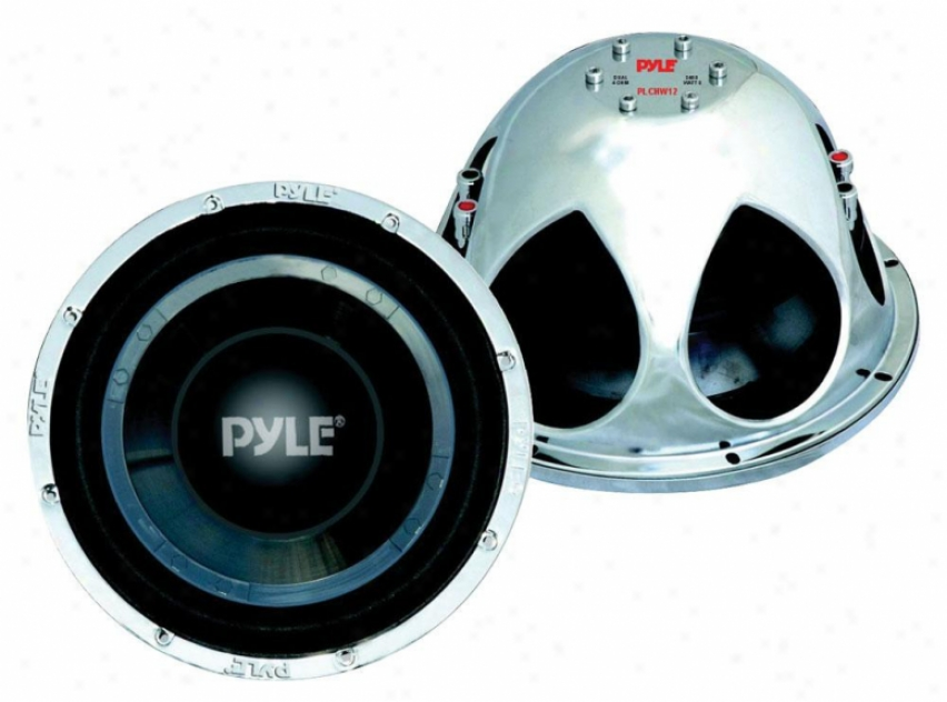 Pyle 12-inch 2400-watt Dvc Car Subwoofer - Plchw12