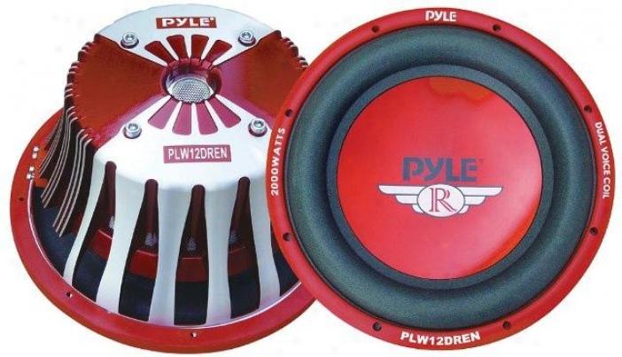 Pyle 12'' 2000 Watt Die-cast Aluminum Dvc Subwoofer