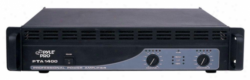 Pyle 1400 Wtts Professional Power Amplifiers