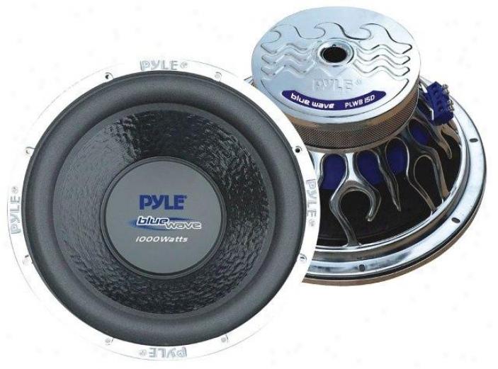 Pyle 15 1000-watt Dvc Subwoofer