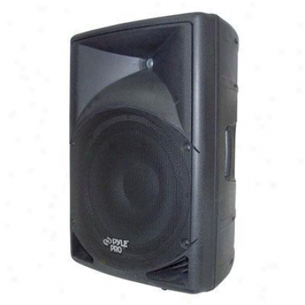 "Pyle 15"" Amplified 2-way Pa Speaker"